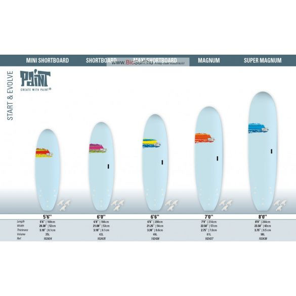 5'6 MINI SHORTBOARD
