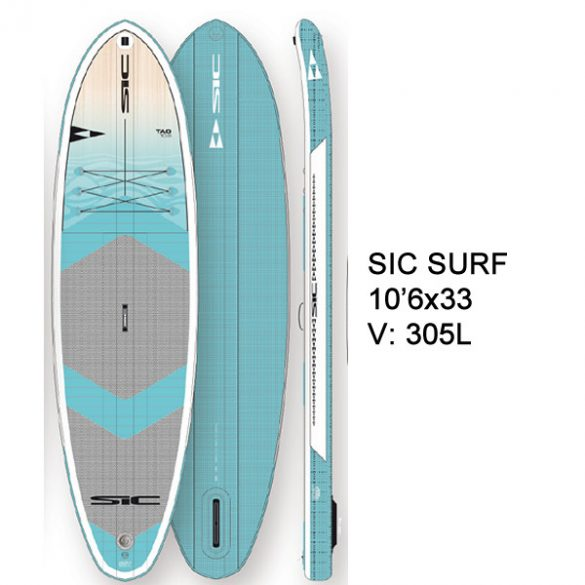 "TAO SURF AIR-GLIDE (SST) 10'6"" x 33.0"""