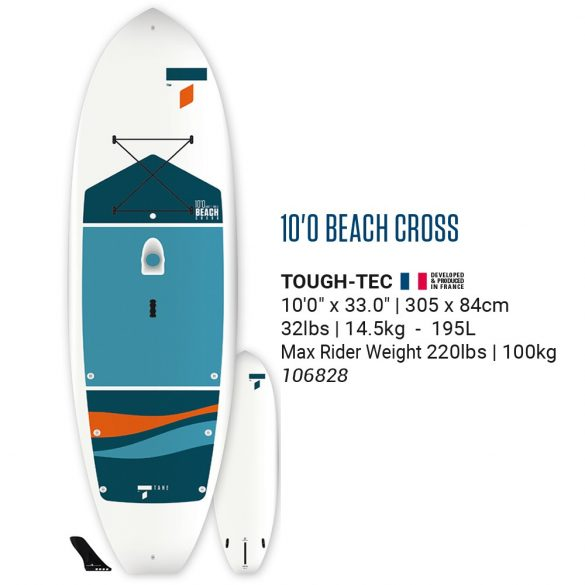 Tahe Beach Cross 10'0
