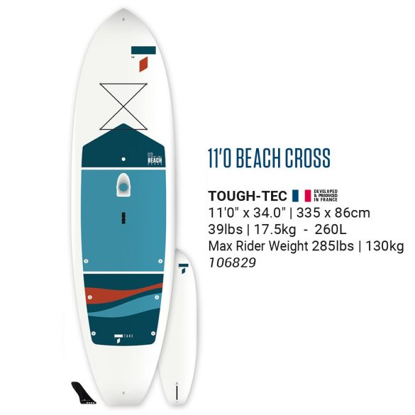 Tahe Beach Cross 11'0