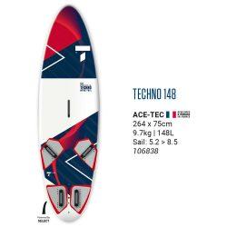BIC Techno 148 windsurf board