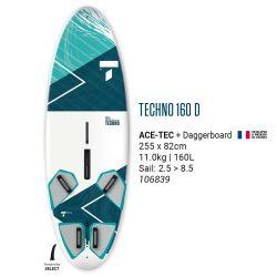 TAHE TECHNO 160D windsurf deszka