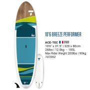 Tahe Breeze performer 10'6