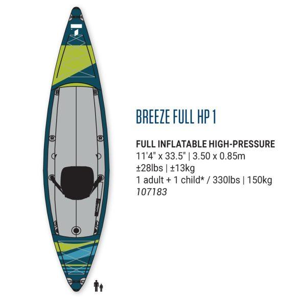 TAHE Breeze Full HP1 inflatable kayak