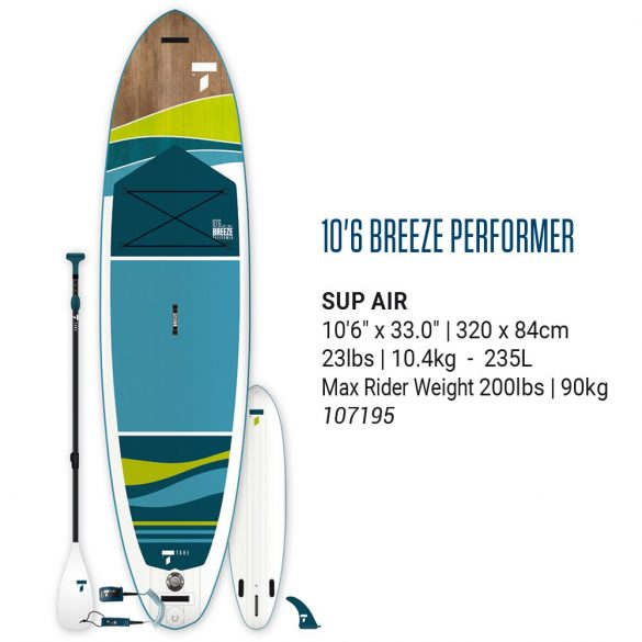 SUP AIR 10'6 BREEZE PERFORMER PACK