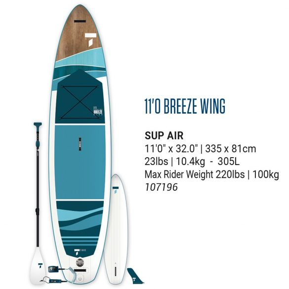 TAHE BREEZE WING 11'0 airsup PACK