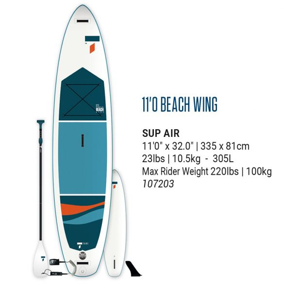 TAHE BEACH WING AIRSUP 11'0  PACK