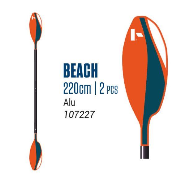 BEACH ALU 220 2 részes evező