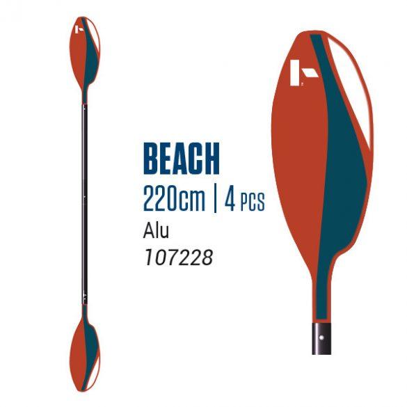 BIC Beach 215 paddle 2 parts