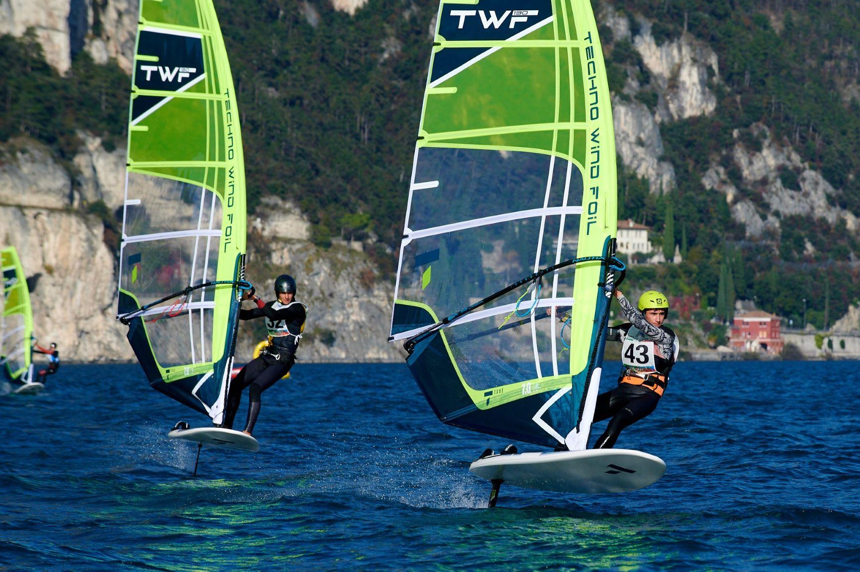 Az első Tahe Wind Foil verseny a Garda-tavon
